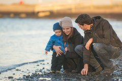 Family Photos at Blackie Spit in South Surrey 01